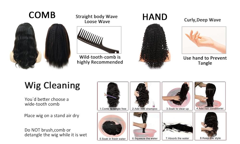 cabelo humano para as mulheres em linha
