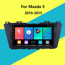 For Mazda 5 2010-2015 Aftermarket GPS Navigation Autoradio 2 Din Car Radio Multimedia  Player Android Stereo Head Unit WIFI