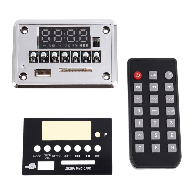 3.7-5V With Recording Bluetooth 5.0 MP3 WMA WAV FLAC APE Audio Decoder Board