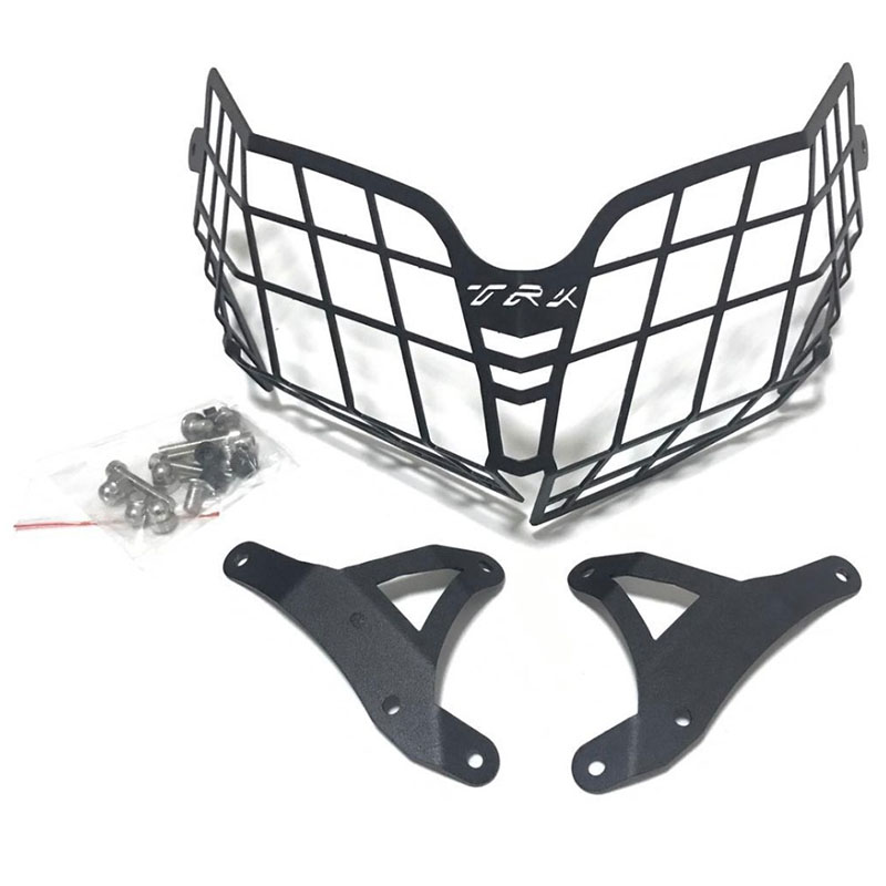 For Benelli Trk502 Trk 502 Moto Parts Motorcycle Accessories Headlight Guard Protector Grille Covers