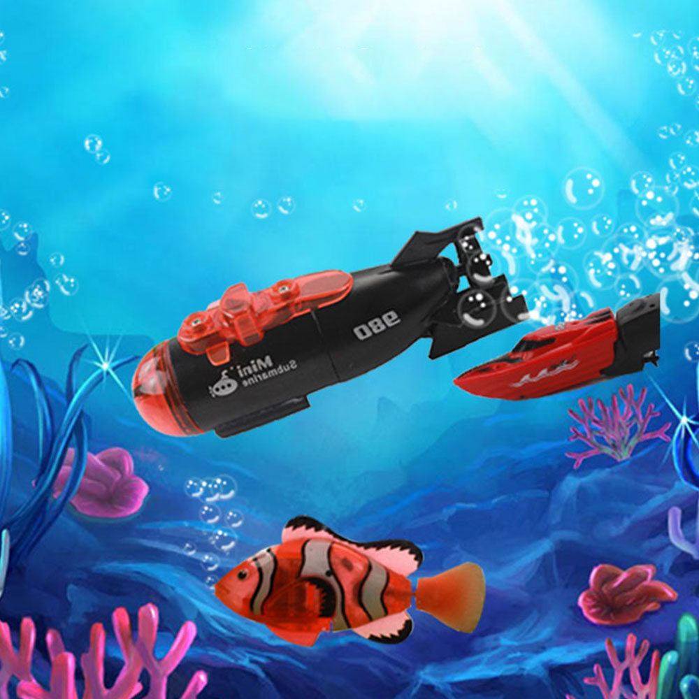 RC Boat High Speed Mini Boat Rechargeable Powerful Speedboat Children Toys best gifts