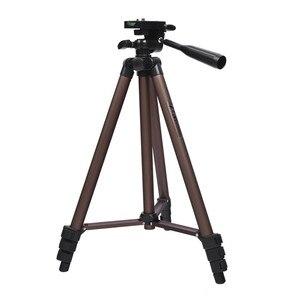 Image 1 - Fosoto profesyonel kamera Tripod standı taşınabilir alüminyum tripodlar için tutucu ile Canon Nikon Sony DSLR kamera kamera telefonu