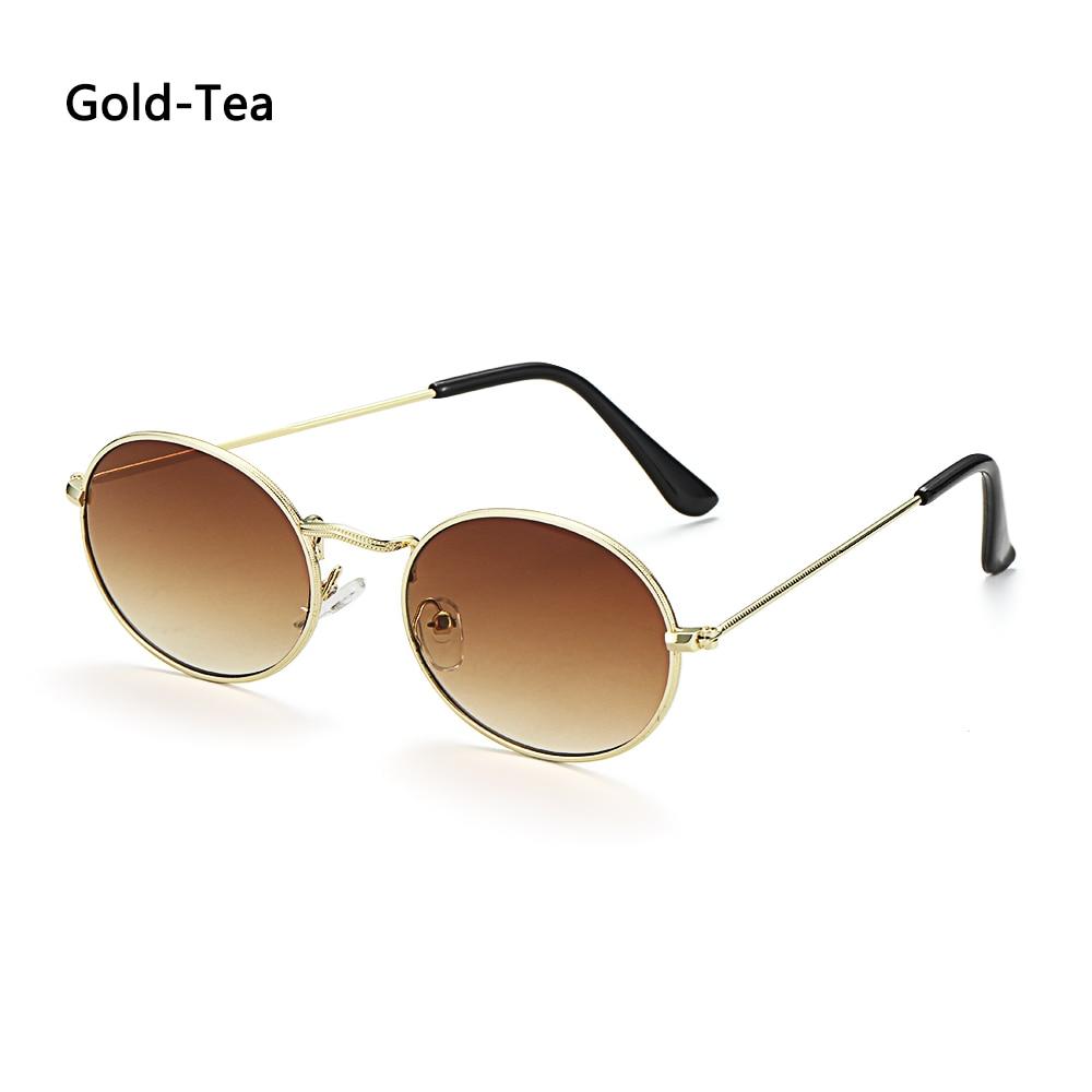 Fashion Vintage Shades Sun Glasses Elegant okulary Retro Small Oval Sunglasses for Men Women Eyeglasses gafas oculos 23