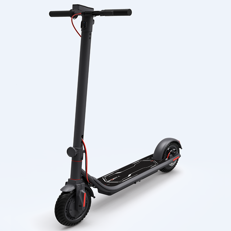 Купить с кэшбэком XiaoMi Foldable Electric Scooter 250W 8.5-Inch Inflatable Tires Adult Wheel Electric Skateboard Portable Electric Kick Scooters