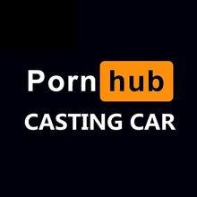Porno Hub döküm araba penceresi komik yetişkin kalıp kesim vinil çıkartması Pornhub araba Sticker oto dizüstü gövde su geçirmez çıkartmaları KK20 * 9cm