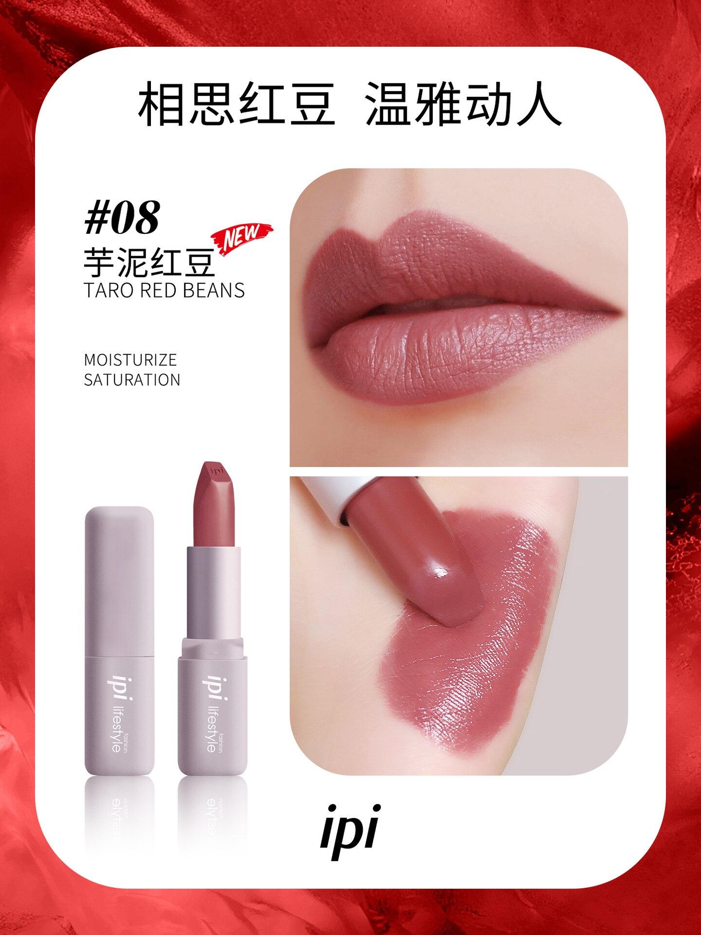 maquiagem batom de longa duração úmido rouge beleza lábios úmidos