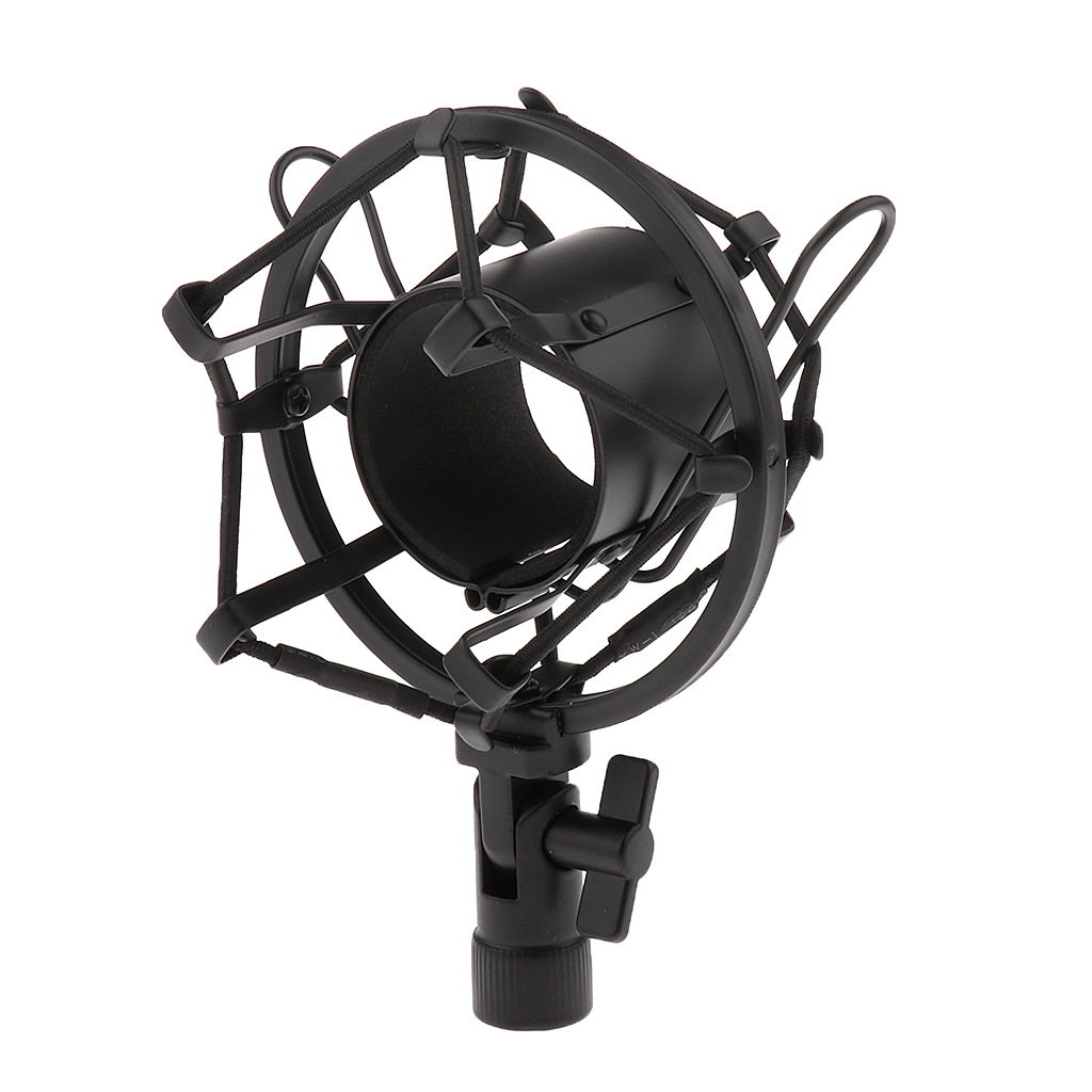 ANTI SHOCK MOUNT HEAVY DUTY SHOCKMOUNT MIC MICROPHONE CRADLE 43-50MM