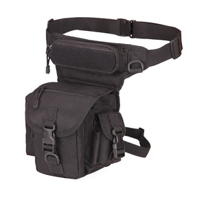 Tactical Waist Bag Drop Leg Bags Tool Fanny Camping Hiking Trekking Military Shoulder Saddle Nylon Multi-function Pack XA618WA(China)