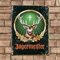 Классический Jagermeister жестяная вывеска бар украшение для стен дома, паба металла плакат знак Ретро (посещения нашего магазина, мы будем рады б...