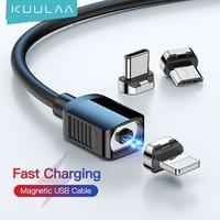 KUULAA cavo magnetico cavo USB tipo C cavo Micro USB C per iPhone Xiaomi cavo magnetico per telefono Samsung cavo di ricarica cavo USBC