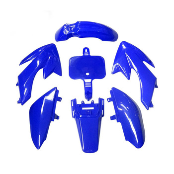 For 50cc 70cc 90cc 110cc 125cc 140cc 150cc 160cc Chinese CRF XR CRF50 XR50 Pit bike Blue Plastic Fairing Body Cover Kits image