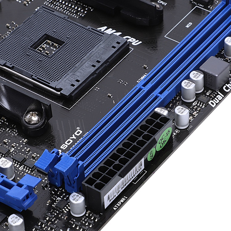 computer motherboard A320M-Vh Computer Mainboard Memory Am4 For Desktop High Speed Professional Dual Channel Stable Motherboard Ddr4 Computer Accesso (5)