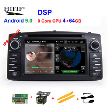 Android 9.0 Car Dvd-speler Voor Toyota Corolla E120 BYD F3 2 Din Car Multimedia Stereo GPS AutoRadio Navigatie Wifi OBD2(China)