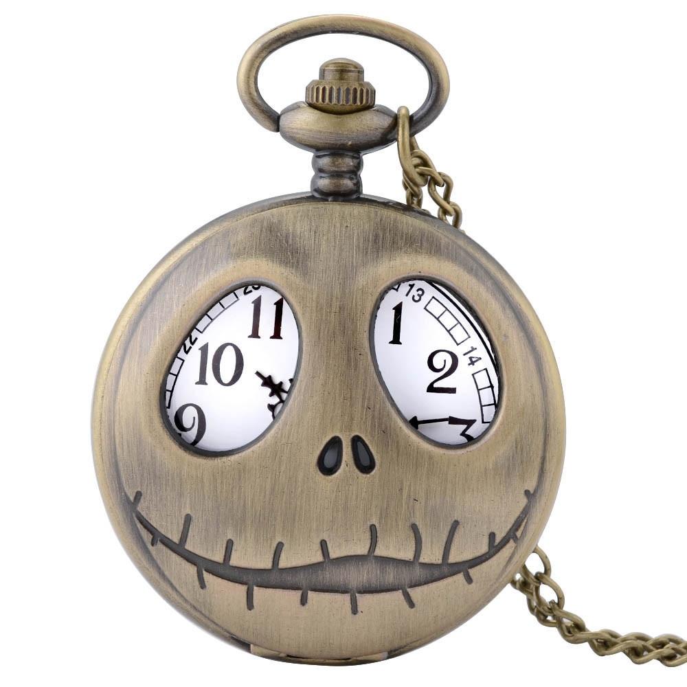 Retro Batman Quartz Pocket Watch For Men Women Smooth Numerals Display Pendant Fob Clock Gift Children Boys With Chain