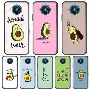 Avocado Aesthetic Phone Case For Nokia 2.2 2.3 3.2 4.2 6.2 7.2 1.3 5.3 8.3 2.4 3.4 C3 C5 C2 Soft Silicone TPU Cases Cover Coque