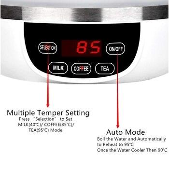 Katlanabilir Seyahat Elektrikli Su ısıtıcısı, Katlanabilir Elektrikli Su ısıtıcısı, çift Voltaj Otomatik Vites, Temper Kontrolü Taşınabilir Seyahat Su ısıtıcısı, Sm