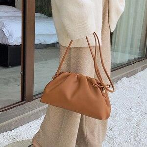 Image 2 - [BXX] بلون بولي Leather حقائب جلدية Crossbody للنساء 2020 سيدة الكتف حقيبة ساعي حقائب اليد الإناث ومحفظة أنيقة fj161