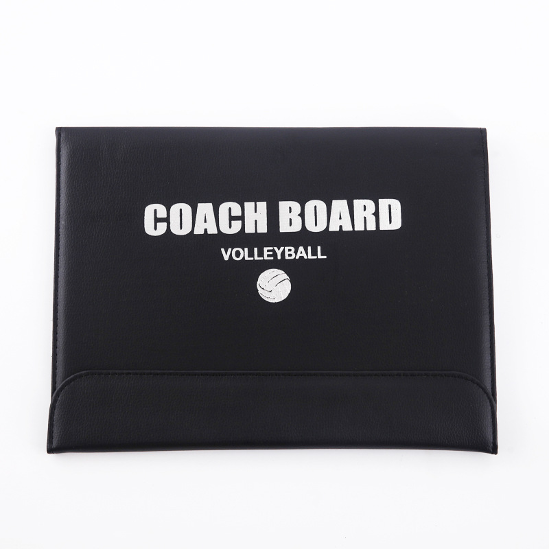 Foldable Magnetic Coach Handball Volleyball Tactical Board Tactics Game Voleibol Training Teach 2.5 Fold Leather Useful