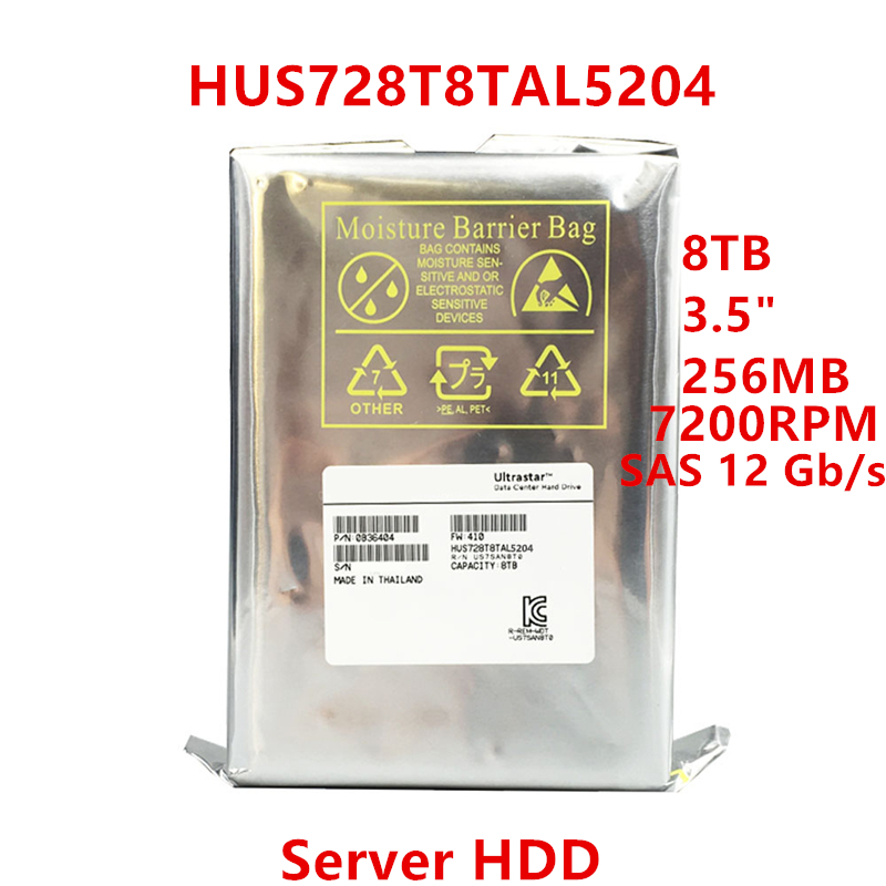 Nuevo disco duro para WD Brand 8TB 3,5