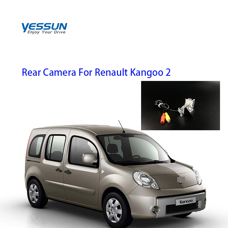 Yessun Special Car Rear View Reverse Backup Camera Rearview Parking  For Renault Kangoo 2