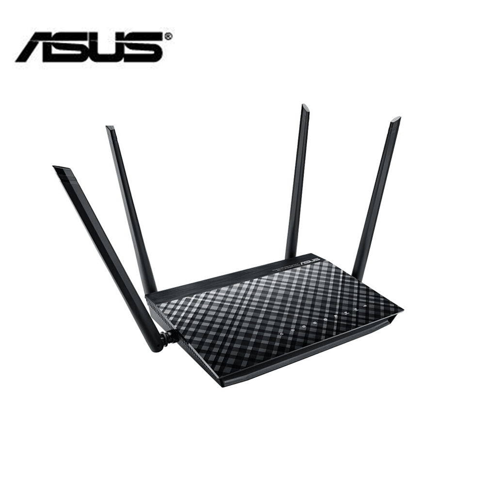 ASUS RT-AC1200GU wifi router or dual-band wireless repeater up to 1200M coverage with the high speed 5g 1