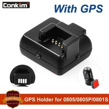 Conkim rejestrator gps Mini 0803 0805 gps Ambarella A7 LA50D wideo moduł gps samochodu wideorejestrator na deskę rozdzielczą port micro usb 0805P 0801S uchwyt na gps tanie tanio 0803 0805 GPS HOLDER hard plastic