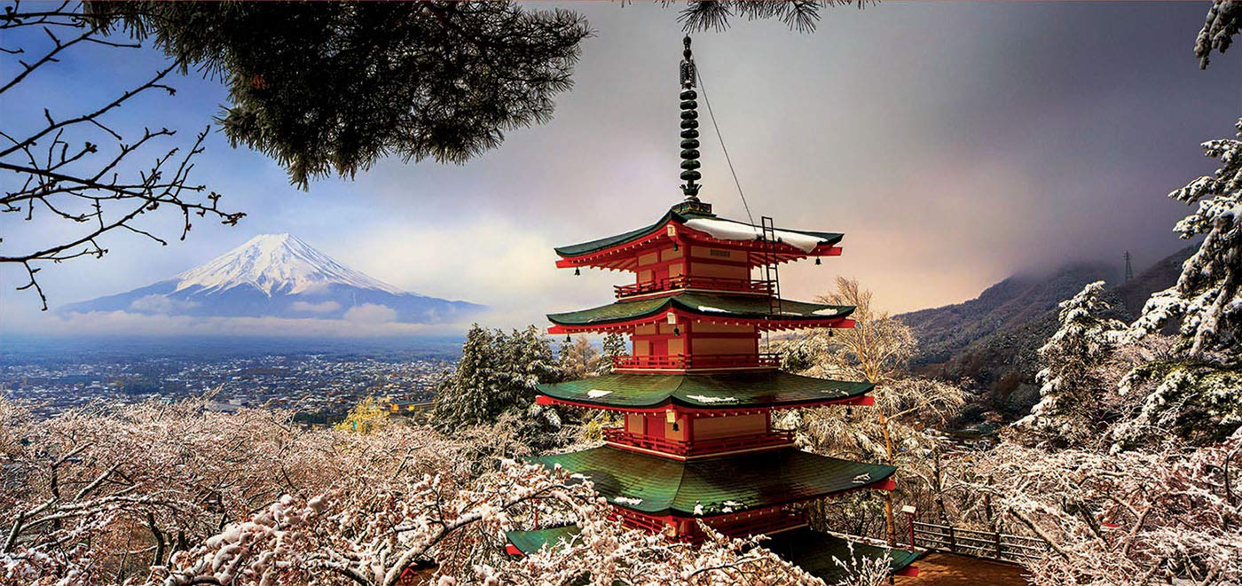 NEW Assembling  Mt. Fuji 3000 Pieces Jigsaw Puzzle Assemble Toys For Gift