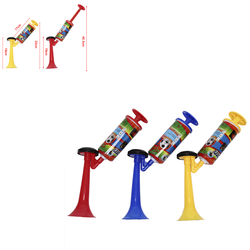 Adjustable Cheerleading Soccer Ball Fans Horn Plastic Trumpet Sports Meeting Club Props Child Toy Hand Push Gas Pump Air Horn