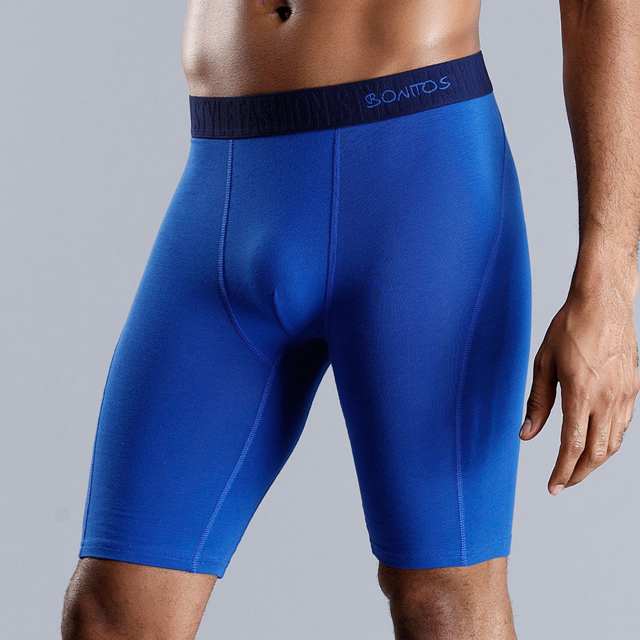 SKARR Long Boxer Long Man Underwear Men Boxer Shorts Underware Mens Underwear Boxers Cotton Sexy Boxershort Male Underpants Gay
