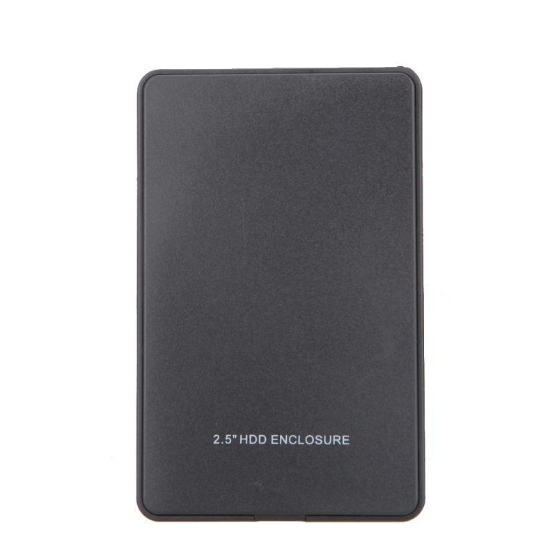 2.5 Inch Usb 2.0 IDE External Hard Drive Enclosure Case Portable USB2.0 Hard Disk Box Hdd Enclosure Case For PC Laptop