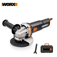 Angle-Grinder-Tools Grinding-Machine Worx Auxiliary-Handhled Electric Anti-Vibration