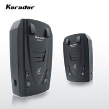 Detector de radares Karar GIR G820 Led 2 en 1 Detector de Radar para Rusia con GPS coche Anti radares velocidad de policía Auto X CT K La