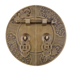 150MM Chinese Brass Doorplate