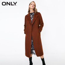 ONLY womens autumn new wool double faced woolen coat