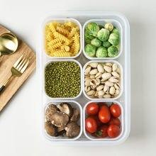 Органайзер для хранения еды коробка холодильника свежей пищи