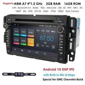 Image 1 - 2Din android araba radyo autoradio araç DVD oynatıcı oynatıcı GMC Chevrolet Chevy Yukon Tahoe Sierra Acadia Suburban multimedya carmonitor