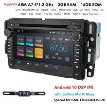 2din android rádio do carro autoradio carro dvd player para gmc chevrolet chevy yukon tahoe sierra acadia suburbana multimídia carmonitor