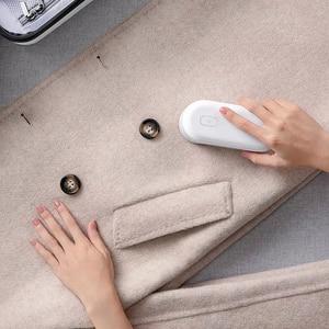 Image 5 - Xiaomi Mini podadora de bolas para el pelo Mijia, removedor de pelusas de malla eléctrica, recortador de pelusas, Micro USB, recargable para ropa, suéter