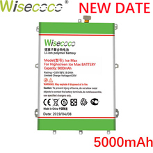 все цены на Wisecoco 5000mAh For Highscreen Power Ice Max Bateria Batterij Batterie CellPhone In Stock Latest Produce High quality battery онлайн