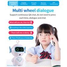 Детский интерактивный робот для распознавания голоса, умный робот-игрушка, умный робот, музыкальное приложение, голосовой чат, повествование для детей