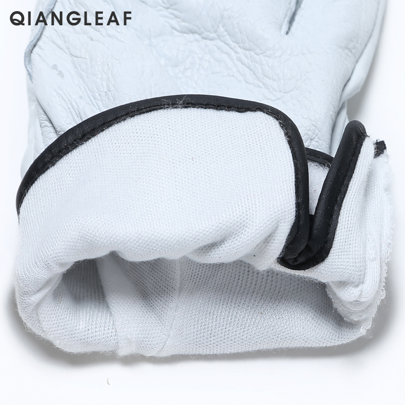 Image 4 - QIANGLEAF Brand Plus Cotton Warm Safety Working Gloves High Quality Mechanic Autumn Winter Mechanism Work Gloves For Workers H73work glovesmechanic work glovessafety work gloves -