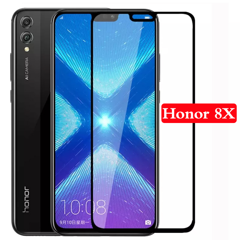 Original Mobile Phone Case Protective Glass For Huawei honor 8x 8 x x8 Tempered Shell Accessories On Honor8x Screen Protector 5d