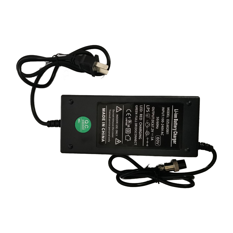 60V lithium battery charger for electric scooter