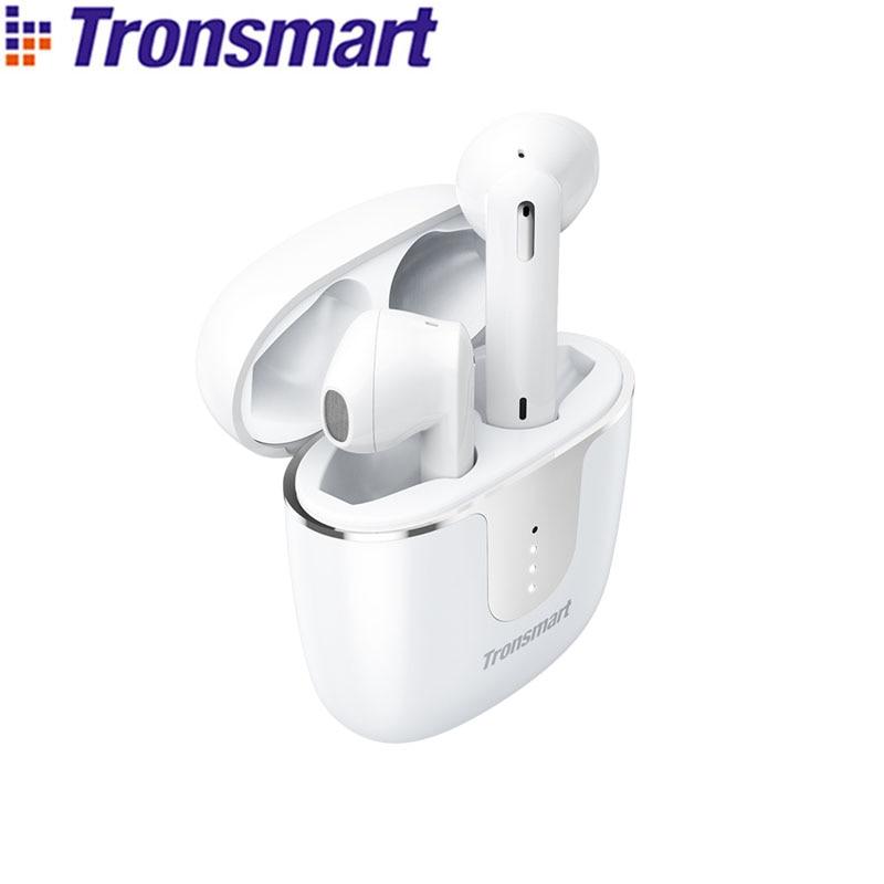 Tronsmart — Ecouteurs Bluetooth 5.0 TWS, oreillettes sans fil, stop-bruit, avec 4 microphones,temps de jeu 24 h, Onyx Ace