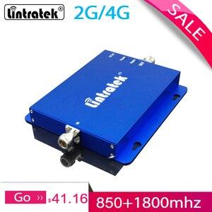 Image 1 - Усилитель сигнала Lintratek CDMA 850 1800 МГц, 2G, 4G, полоса 3