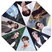 Fan-Collection Automatic-Umbrella Wang The-Untamed Sunshade CHEN Lan Anti-Uv Gift Zhan