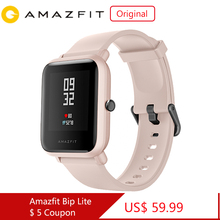 Original Amazfit Bip Lite Smart Watch 45 Day Battery Life 3ATM Water resistance Activity Healthy Tracking  Apps Notifications