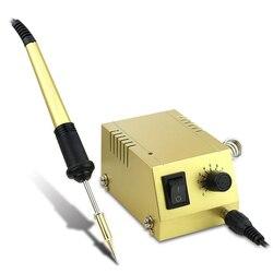 Stacja lutownicza BK 938 Mini lutowane 220 V/110 V szybkie ogrzewanie lutownica dla przemysłu naprawy telefonu SMD SMT DIP lutowania pracy w Stacje lutownicze od Narzędzia na