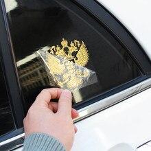 Federação russa águia emblema etiqueta do carro para lada kalina priora niva vaz granta samara 2110 2114 largus 2109 2115 2112