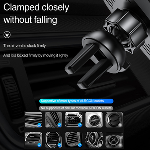 Image 5 - Automatic Clamping Car Mount Qi Wireless Charger For iPhone XS XR X 8 10W Fast Charging Phone Holder Stand for Samsung S10 S9 S8